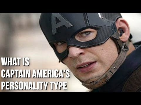 What is Captain America's True Personality? The Power of ISFJ!