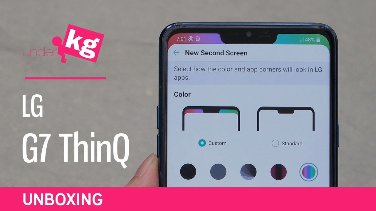 LG G7 ThinQ - Unpacking and Review