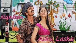 \Asku Laska\  Nanban Movie Songs  Star Vijay,Jiiva,Srikanth,Ileana DCruz