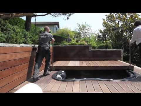 Couverture amovible pour spas - YouTube