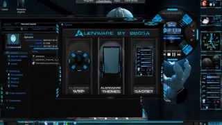 como personalizar Windows 7 Alienware 2012   YouTube