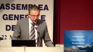 Assemblea generale AMMA: Intervento del DG di Federmeccanica Stefano Franchi