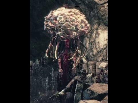 Bloodborne How To Kill A Brain Trust Winter Lantern Youtube