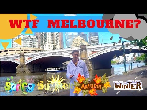 MELBOURNE'S 4 SEASONS IN 1 DAY EXPLAINED