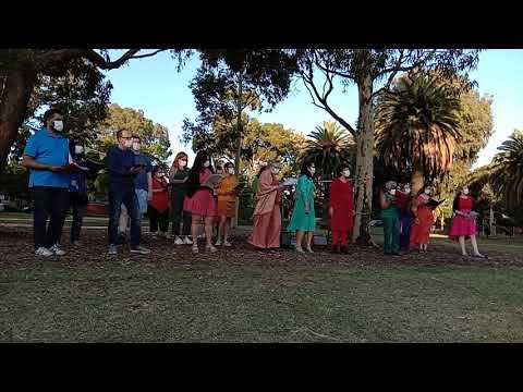 Lean on Me | Northern Voices Choir live at Pender in the Grass