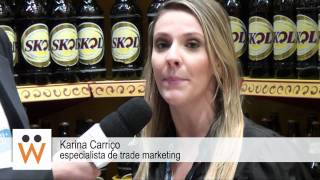 Karina Carriço, Especialista em Trade Marketing - Ambev - APAS 2011| Newtrade.tv
