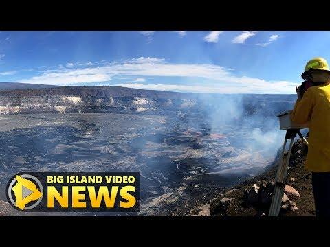Kilauea Volcano Lava Lake Overflows Continue (Apr. 24, 2018)