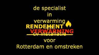 De specialist in verwarming en cv installatie voor Rotterdam en Omstreken. Verwarming Rotterdam cv