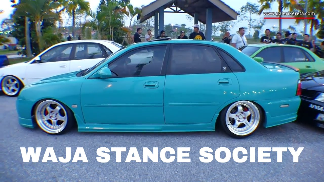 Proton Waja Turquoise Green Stance | Meet and Greet Stance Collaboration  2016