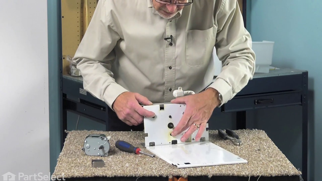 Refrigerator Repair - Replacing the Auger Motor (GE Part # WR60X10262)