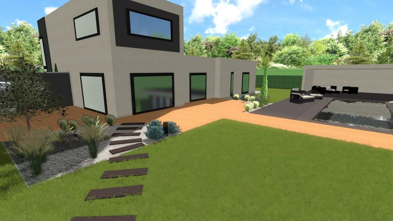 Maison Moderne Piscine Et Jardin Issoire
