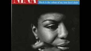 nina simone - black is the colour of my true love