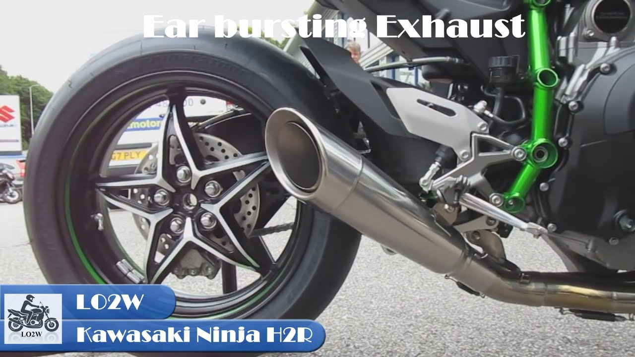 Top 5 Full Exhaust Sound Kawasaki Ninja H2R Akrapovic Austin Racing TT3 R9
