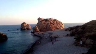 Скалата на Афродита до Пафос,Кипър с Даниел Димитров