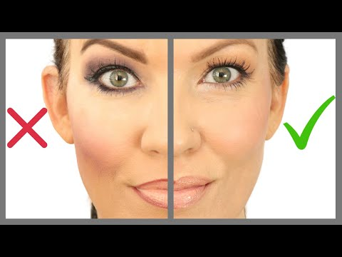 12 Makeup Mistakes on MATURE SKIN, HOODED EYES, WRINKLES - Makeup Tutorial