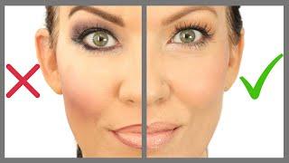 12 Makeup Mistakes on MATURE SKIN, HOODED EYES, WRINKLES - Makeup Tutorial