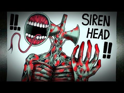 Download Asal Usul Monster Berkepala Sirene (SIREN HEAD)    DRAWSTORY