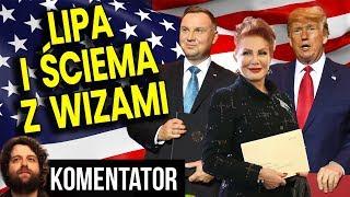 Ile Zapłaciliśmy Za Wizy do USA - Samo-Poniżenie Prezydenta Dudy i Ściema TVP - Analiza Komentator