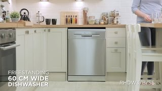 Russell Hobbs Dishwasher Product Video RHDW3 B SS