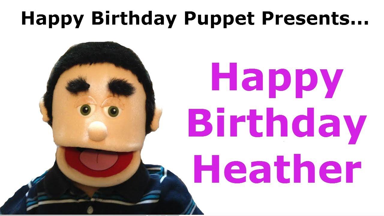 maxresdefault funny happy birthday heather birthday song youtube