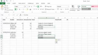 matched betting online spreadsheet template