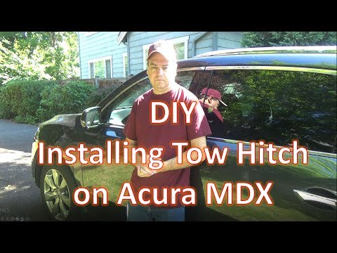 How To : Installing a Tow Hitch on an Acura MDX