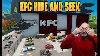 KFC HIDE AND SEEK I FORTNITE