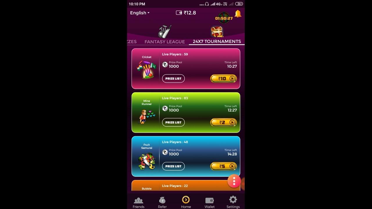 #winzo gold 500 rupay Paytm cash free Winzo Gold Cash Bonus Withdrow Trick | Mod apk