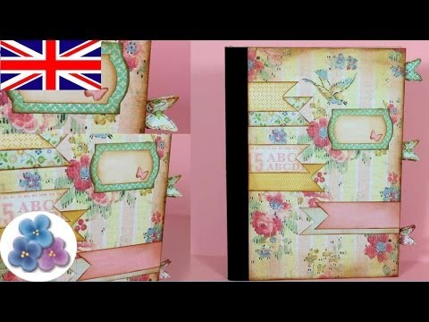 How To Make A Scrapbooking Cover Diy Scrapbook Book Covers