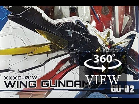 [360°Degree] Tamashii Nations Gundam Universe - Wing Gundam