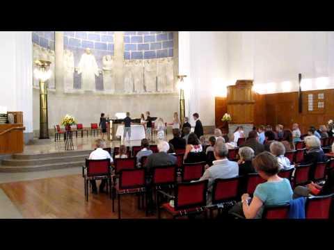 3. Klass-Unti Abendmahlsgottesdienst in der reformierten       Kirche Zürich-Oberstrass