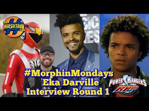 Eka Darville  Round 1  Power Rangers RPM  Morphin' Monday