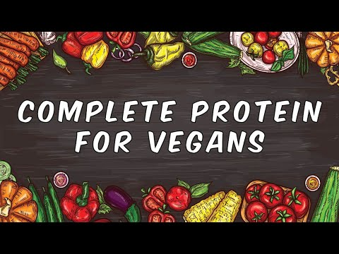 6 complete protein sources for vegans