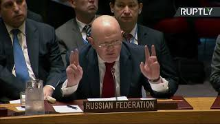 Russia and Bolivia Speak Truth of US Attack on Syria (UNSC 4-14-18)