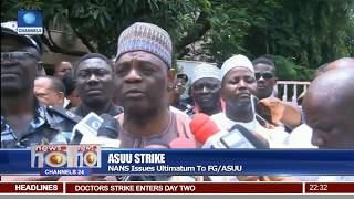 ASUU Strike: NANS Issues Ultimatum To FG/ASUU