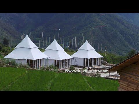 Ultra-Luxury Surya Villa Resort Tent Manufacturer& Exporter| Permanent,Semi Permanent Resort Tent