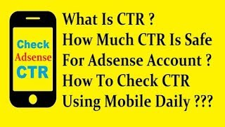 Control (Adsense CTR Increase CPC)  & (YouTube Money Turbo Boost Apk)