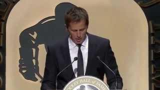 Mike Modano Hockey Hall of Fame Induction Speech (2014)