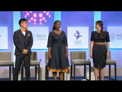 Musana 2016 Hult Prize Final Presentation at Clinton Global Initiative