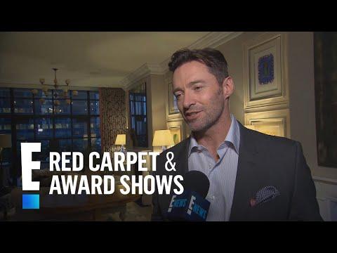 Hugh Jackmans 2018 Golden Globe Nomination Reaction  E Red Carpet & Award Shows