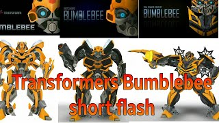 Transformers All Bumblebee shorts Flash by osro