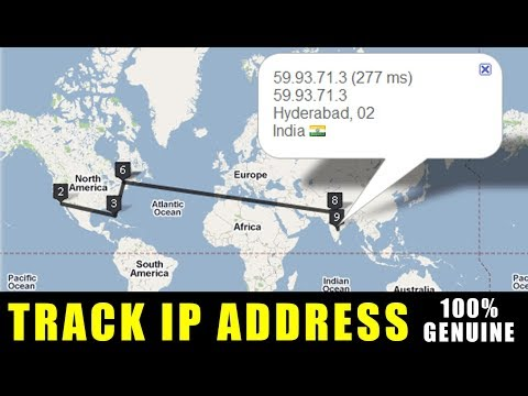 How To Track IP Address Facebook | Gmail | Yahoo