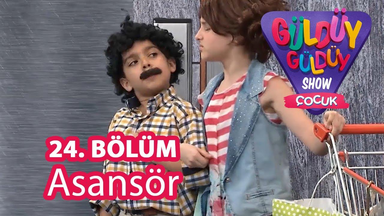 Güldüy Güldüy Show Çocuk 24. Bölüm | Asansör Skeci