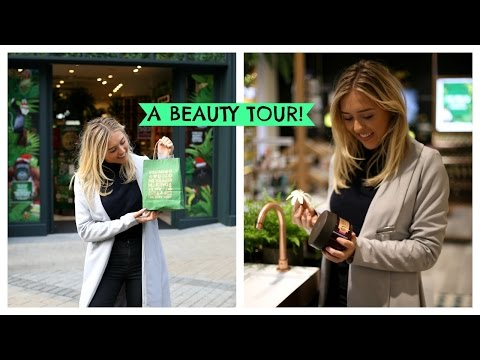 BEAUTY SHOPPING! THE BODY SHOP CONCEPT STORE TOUR, FIRST ONE IN THE SHOP?! ad | EmTalks