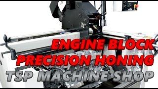 Texas Speed & Performance Engine Machining Facility - Honing Station