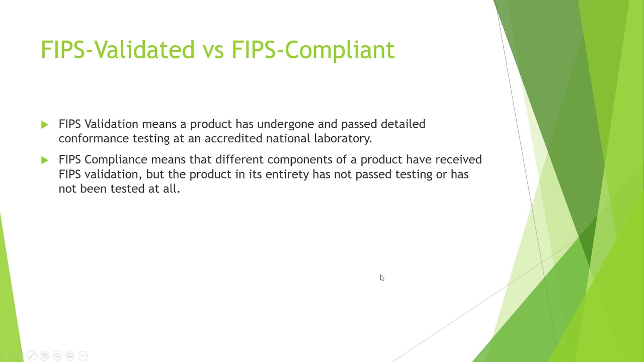 Download AuditTrails : FIPS Validated vs FIPS Compliant