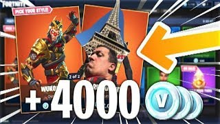 MY PARIS TO ME - 40,000 VBUCKS TO WIN ON FORTNITE