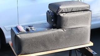 How to Build a Center Console for your Car