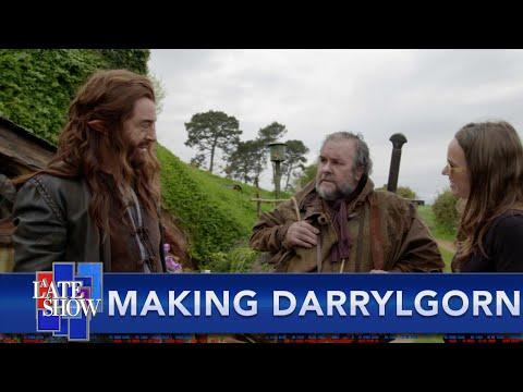 Stephen Colbert Wielded Gandalf's Sword In The Filming Of