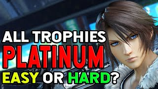 Final Fantasy VIII Remastered All Trophies, Easy or Hard Platinum
